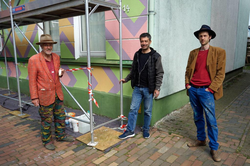 Hans Peter Röhe-Hansen, Mustafa Teze, Philipp Röhe Hansen Schlichting